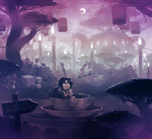 The Sea of Tea by *Xamag