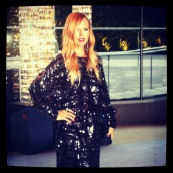 cfda:  Rachel Zoe at the 2012 CFDA Fashion Awards Taken with instagram
