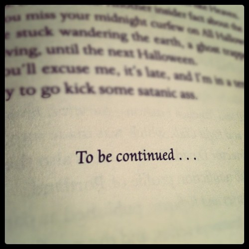 What the fuck, Chuck? #damned #chuckpalahniuk #tobecontinued (Taken with instagram)