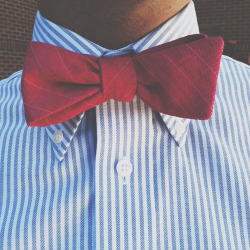 Custom bow tie by Cordial Churchman  Athens, GA // June 2012 via VSCO CAM for iPhone