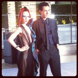 cfda:  Michelle Harper and Christian Cota at the 2012 CFDA Awards Taken with instagram