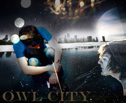 ithinktheyfoundus:  Owl City one of my favourite artists. Made this one as well.