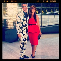 Brad Gorseki and Deborah Lloyd at the 2012 CFDA Awards Taken with instagram