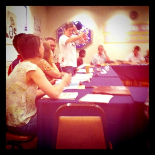 Last Table Read of Season 3! (Taken with instagram)