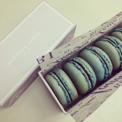 Earl Grey all day. #macaroons #bottegalouie #earlgrey #sweets #dessert (Taken with instagram)