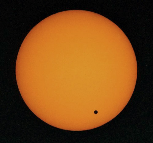 nevver:  Venus, in transit  Worth getting up to watch? Probably not.