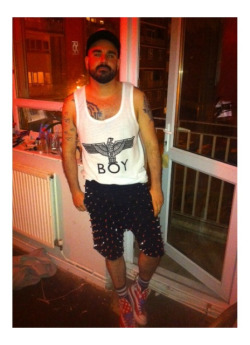 LONDON LOVE  London boys in STUDmuffin NYC SPIKE sweats  www.STUDMUFFIN-NYC.com www.Facebook.com/studmuffinnyc
