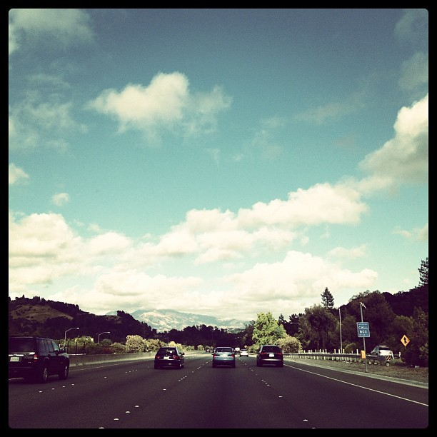 #sky #istamood #instagood #travel #blue #road #car #cars #landscape #happy #art #all_shots #ontheroad #city #commute #iphone #popularpic #picoftheday  (Taken with Instagram at Mt Diablo/acalanes Rd)