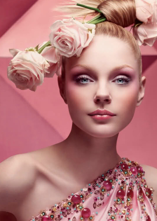 'Christian Dior Fall Winter 2007 Advertising Campaign', Jessica Stam by Craig McDean. Christian Dior Fall Winter 2007 Ready-to-Wear