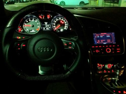Got to drive an Audi R8 last night, definitely an awesome experience :D