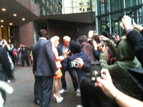 GAGA JUST ARRIVED AT HER HOTEL IN NEW ZEALAND