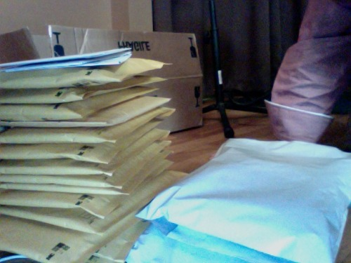 sooo many pre-orders. Thank you all so much!