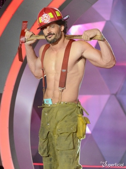 What are you doing to me, Joe Manganiello?