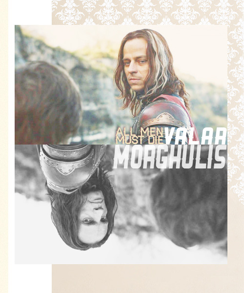 Jaqen is dead… Say it again. Valar morghulis.