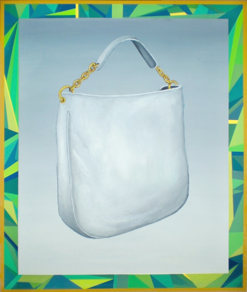 "Handbag w/ HTML FrameOil on Canvas36"" x 24""2012"