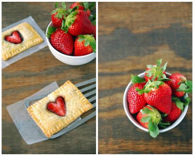 fuckyeahpie:  Strawberry Nutella Poptarts (via The Novice Chef)