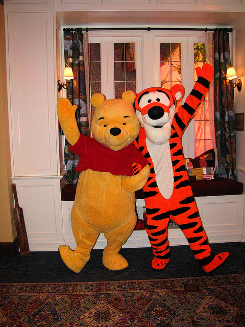 magicaldisneyworld:  Pooh and Tigger on Flickr.