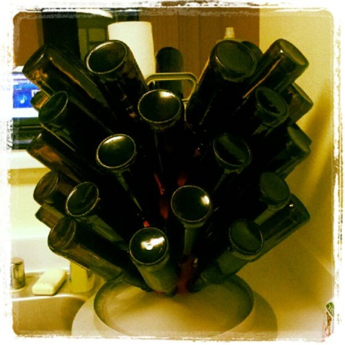 Bottling day! #homebrew (Taken with instagram)