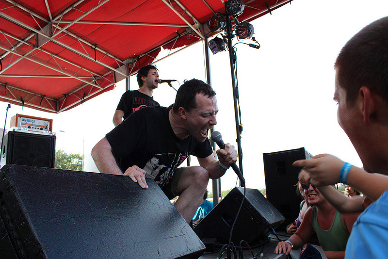 breatheskye:  Touche Amore at Free Press Summer Fest.