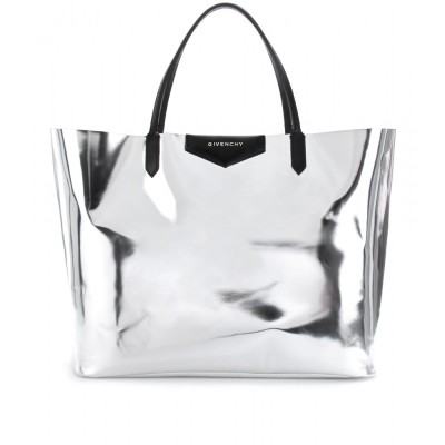 asthetiques:  GIVENCHY - ANTIGONA METALLIC LEATHER SHOPPER.