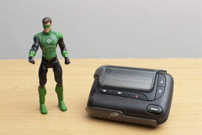 194/365 - Hal Jordan's Pager on Flickr. © 2012 Eric Adeleye Photography. I'm pretty sure that Hal Jordan still uses a pager too because it is a geek must have item. If a problem goes down, page the IT Tech, I mean the Green Lantern to come fix your computer for a decent price, LOL. Watching over the universe and fixing Information Technology problems is what the Green Lantern of sector 2814 does every single day. Green Lantern Tip of the Day: If you experience a problem, reboot your computer, it is one of the first steps to try in resolving a computer related problem. Follow me on My Website | Google Plus | Twitter | Facebook | 500px | Tumblr