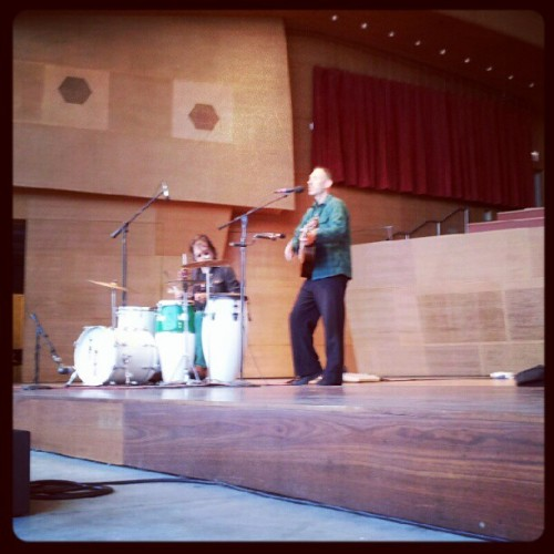 Jonathan Richman at Pritzker. (Taken with instagram)