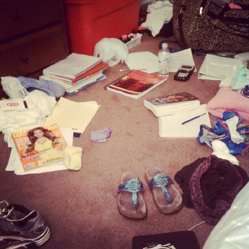#CollegeLife  (Taken with instagram)