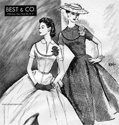"Best & Co. 1956 ""Summer In Duplicate by Jamison Classics"""
