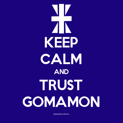 "next ""keep calm"" digimon related t-shirt project will be this. Why? simply because I love Joe and the crest of reliability really fits him. :)"