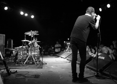 Touche Amore @ The Glasshouse, Pomona. Jeremy's parting words.
