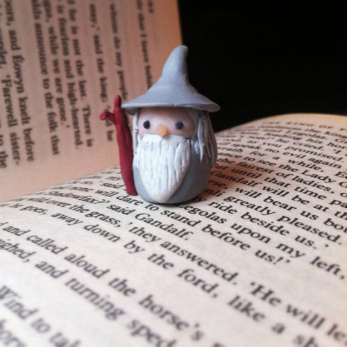 teachingliteracy:  Little Gandalf the Grey on etsy.