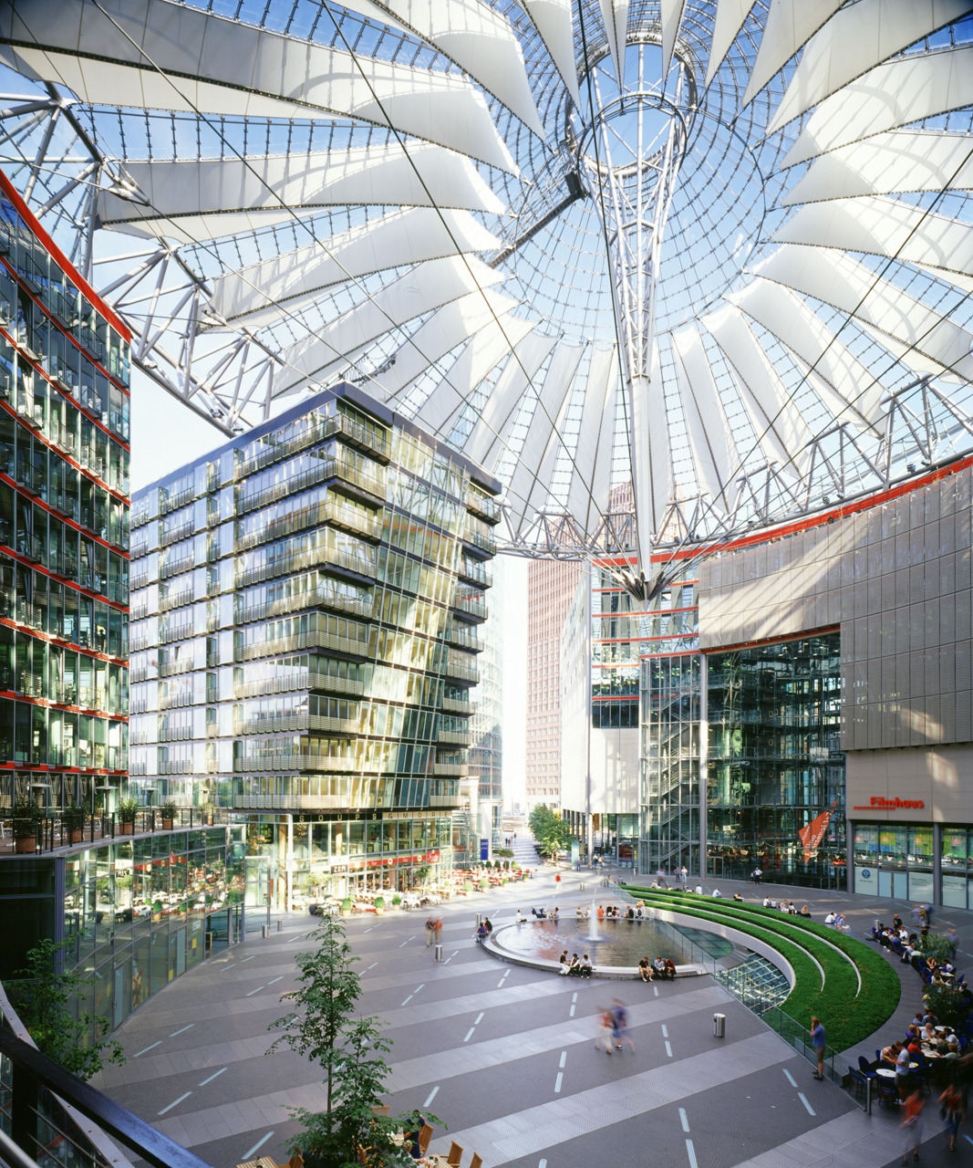 Sony Center Berlin/ Murphy/ Jahn
