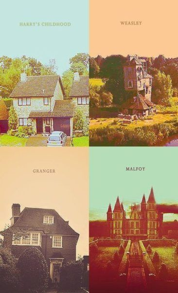 Been to Harry's home from the scenes where his parents are still alive :) Lacock, England