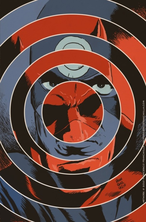 Daredevil/Bullseye, by Francesco Francavilla