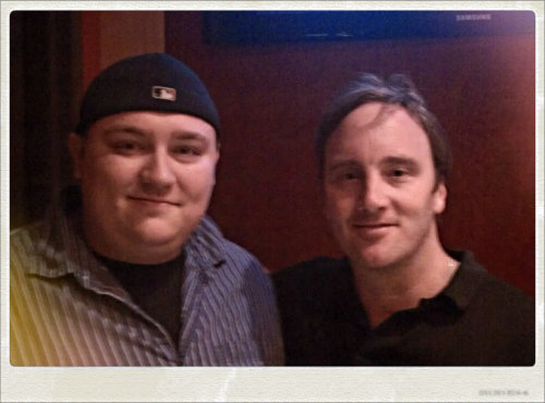 My buddy Jay Mohr and I. No big deal.