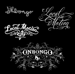 Lettering - Onbongo/Local Motion