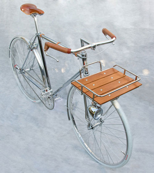 obliteratedheart:  Porteur Bicycle