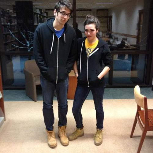 everyonedressesthesame:  via Robinkro  #LibrarydressingthesameTHROWBACK