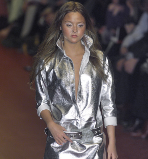 Devon Aoki at Fendi A/W 2001