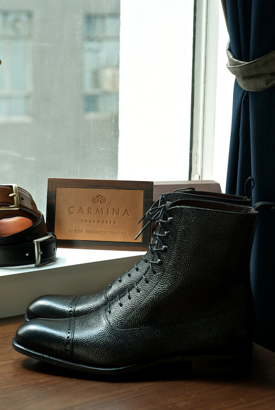 ethandesu:  80092 Balmoral Boots Carmina Made To Order at The Armoury