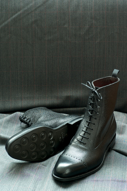 ethandesu:  Rugged Made To Order Carmina at The Armoury