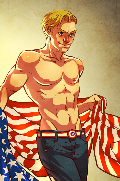 heartbrokengirlsketches:  Oh hey. patriotism. also I am still streaming   I couldn't resist.