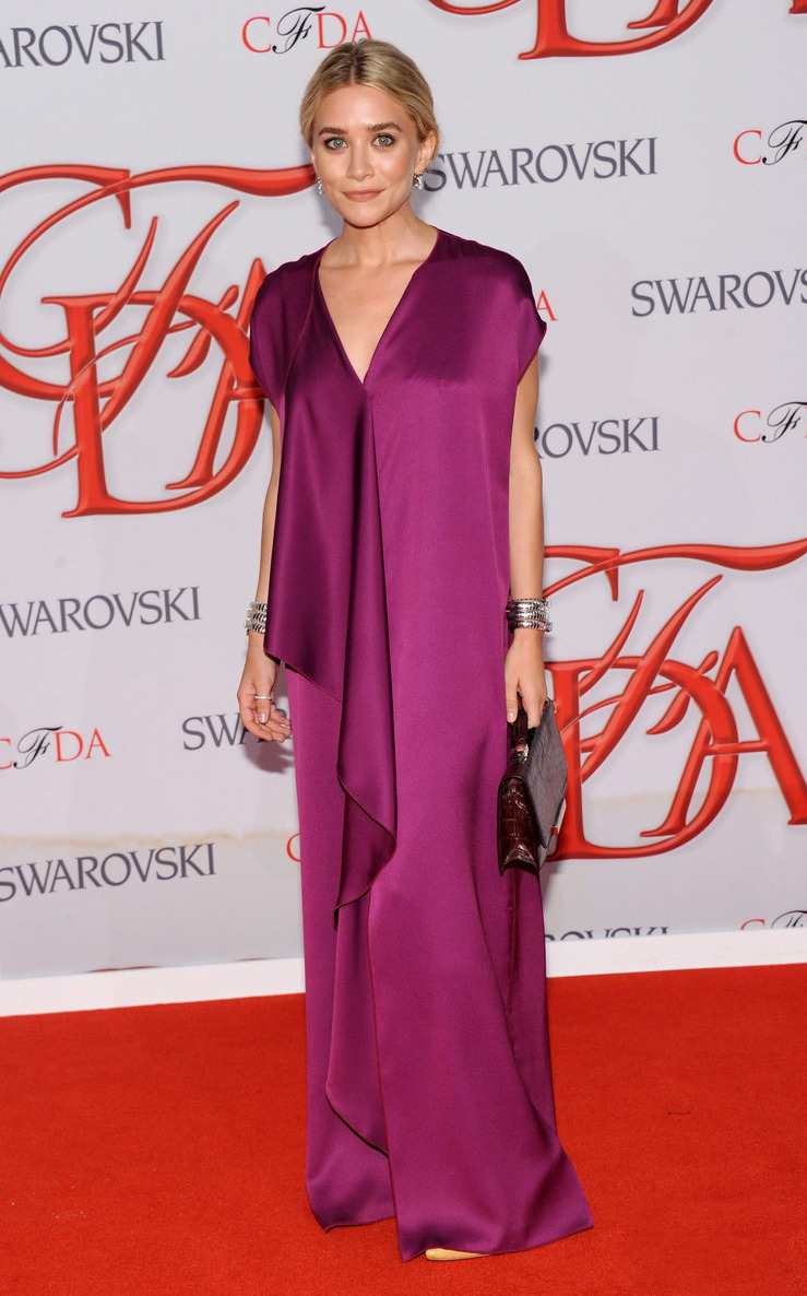 sindiamantes:  CFDA Awards 2012. Ashley Olsen in The Row