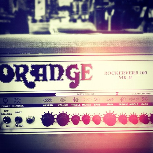 jasontmays:  A few weeks ago we got this Rockerverb in the store…needless to say…I WANT IT!!!!!