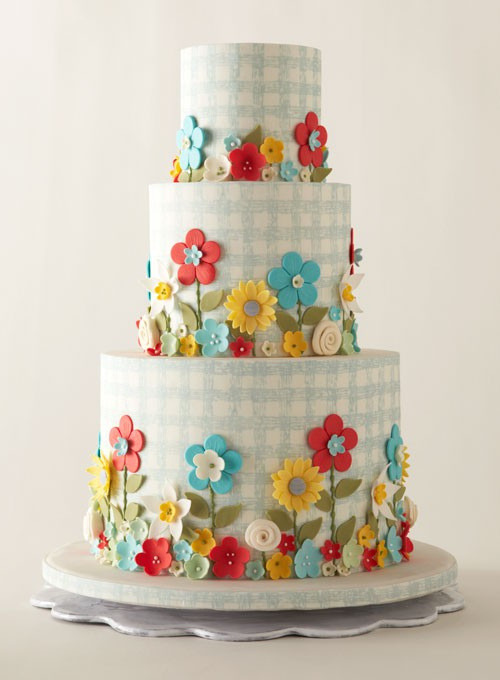 Wedding Cake {Gingham}