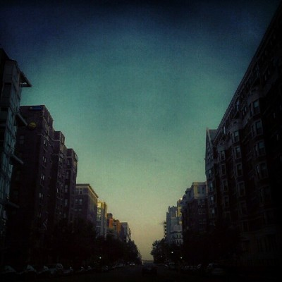 K Street Sundown #Droidography #WashingtonDC #sunset  (Taken with instagram)