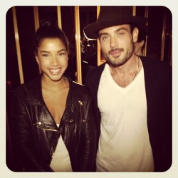 Hannah Bronfman with The Impossible Cool's Sean Sullivan. Photo by David X. Prutting / BFAnyc.com