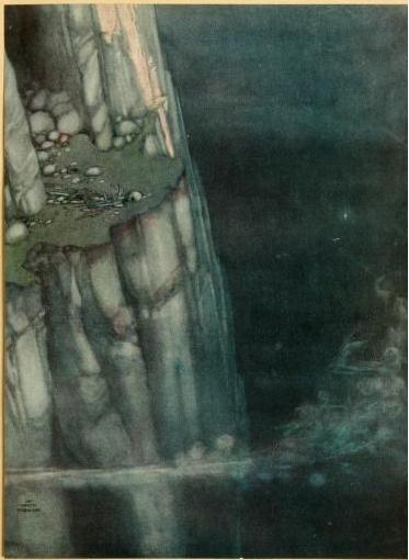 William Heath Robinson illustration forA Song of the English (1909)