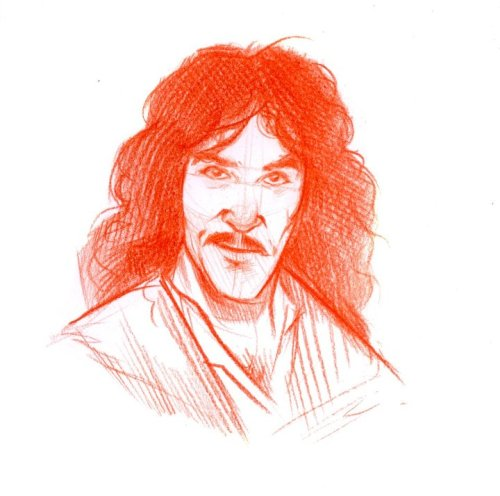 Sketch I did the other day.  Inigo Montoya.