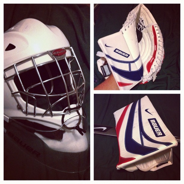 I miss playing #hockey 😢 #picstitch (Taken with instagram)